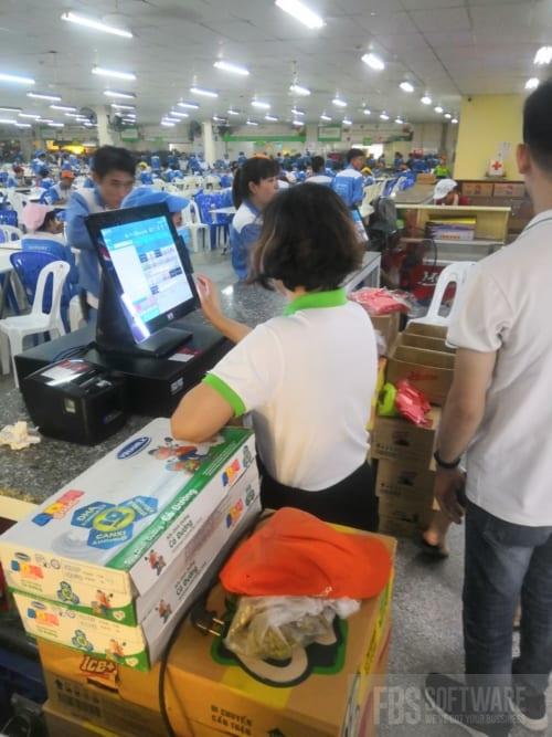 Máy tính tiền siêu thị giá rẻ