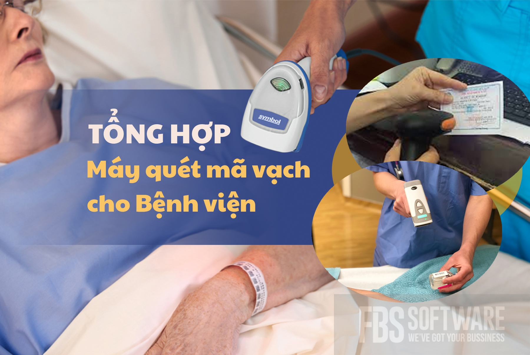 Tổng hợp Máy quét mã vạch cho bệnh viện FBS thietbibanle.com