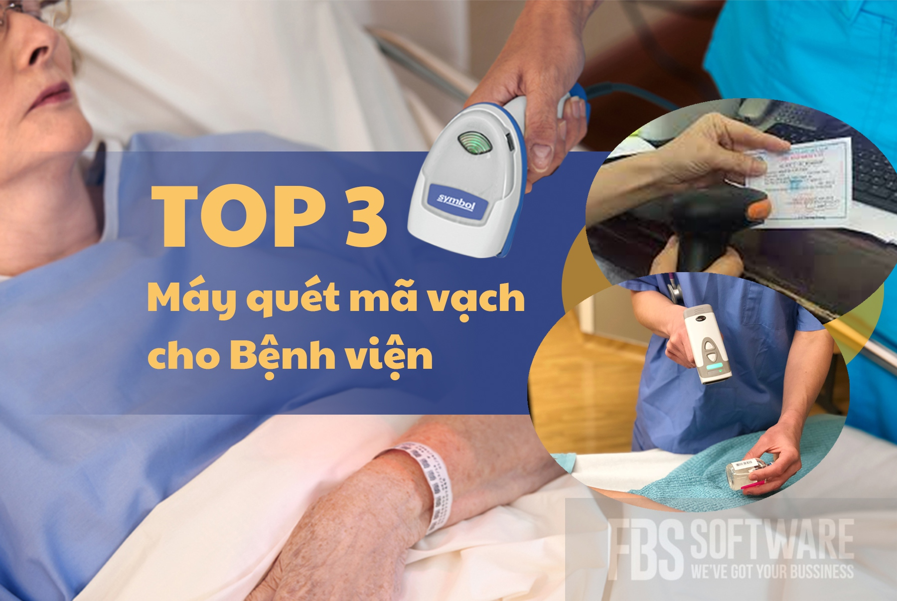 Top 3 Máy quét mã vạch cho Bệnh viện tại FBS thietbibanle.com